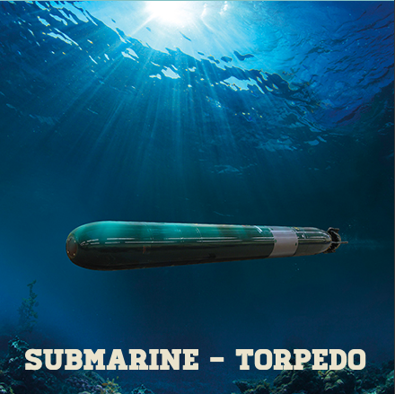 Submarine Torpedo,         Hint Hunt,London